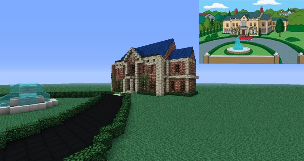 Family Guy mr pewterschmidt Family Guy House Minecraft
