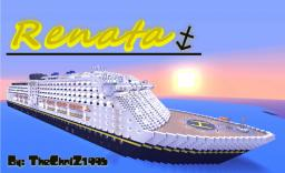 Renata - Cruise Ship (Over 340 blocks long!) Minecraft
