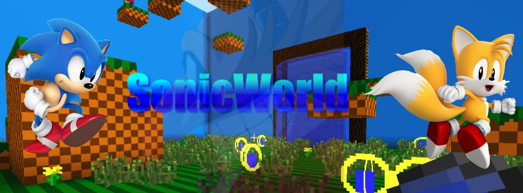 Sonicworld The Sonic The Hedgehog Aventure In Minecraft Minecraft Map
