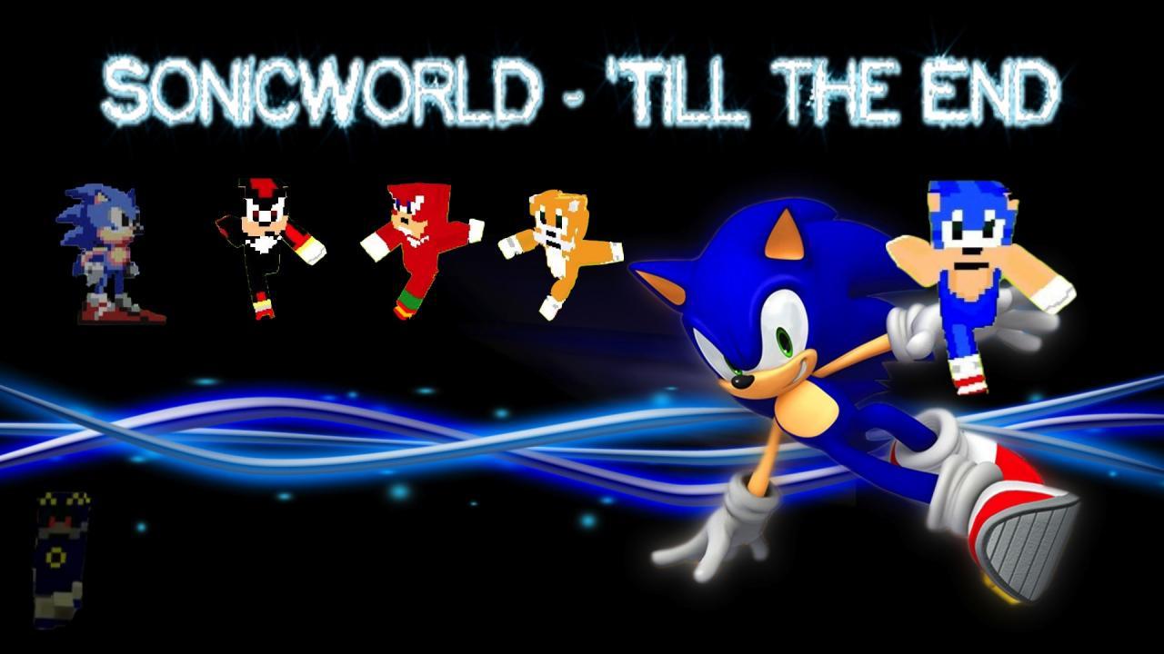 SonicWorld  The Sonic the Hedgehog Aventure in Minecraft