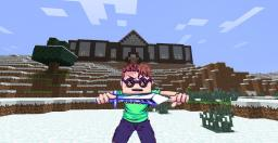 "Tobuscus' Manor From ""I Can Swing My Sword"" Music Video Survival Map Minecraft Map & Project"