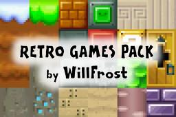 [1.2.5] Retro Games Pack - by WillFrost Minecraft Texture Pack