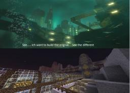 BIOSHOCK ULTIMATE Minecraft Project