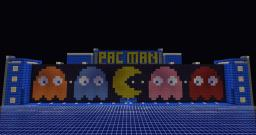 PacMan Arcade (updated to V2.0) Minecraft Map & Project
