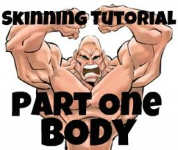 How to shade muscles - Part One - Body