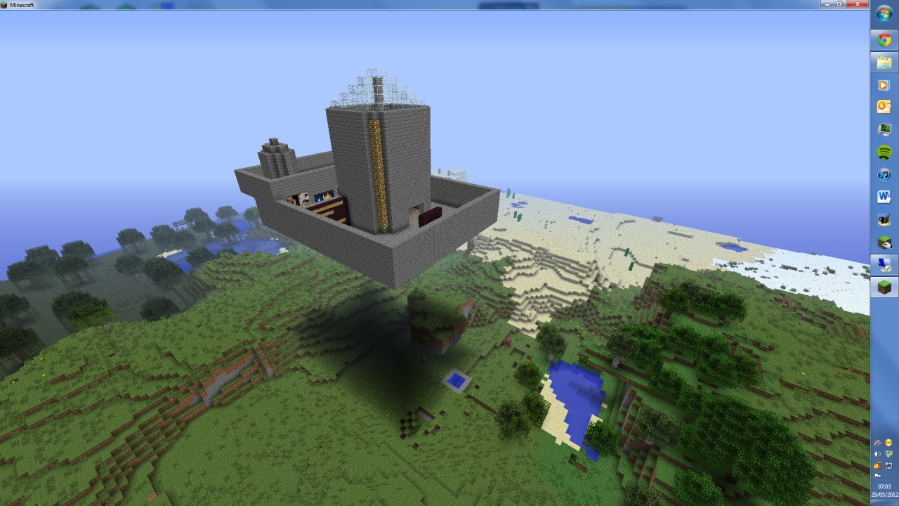 how to create a public minecraft server