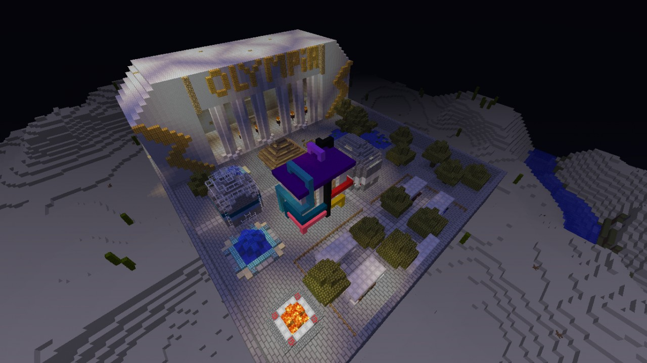 Worldcraft Spawn Area
