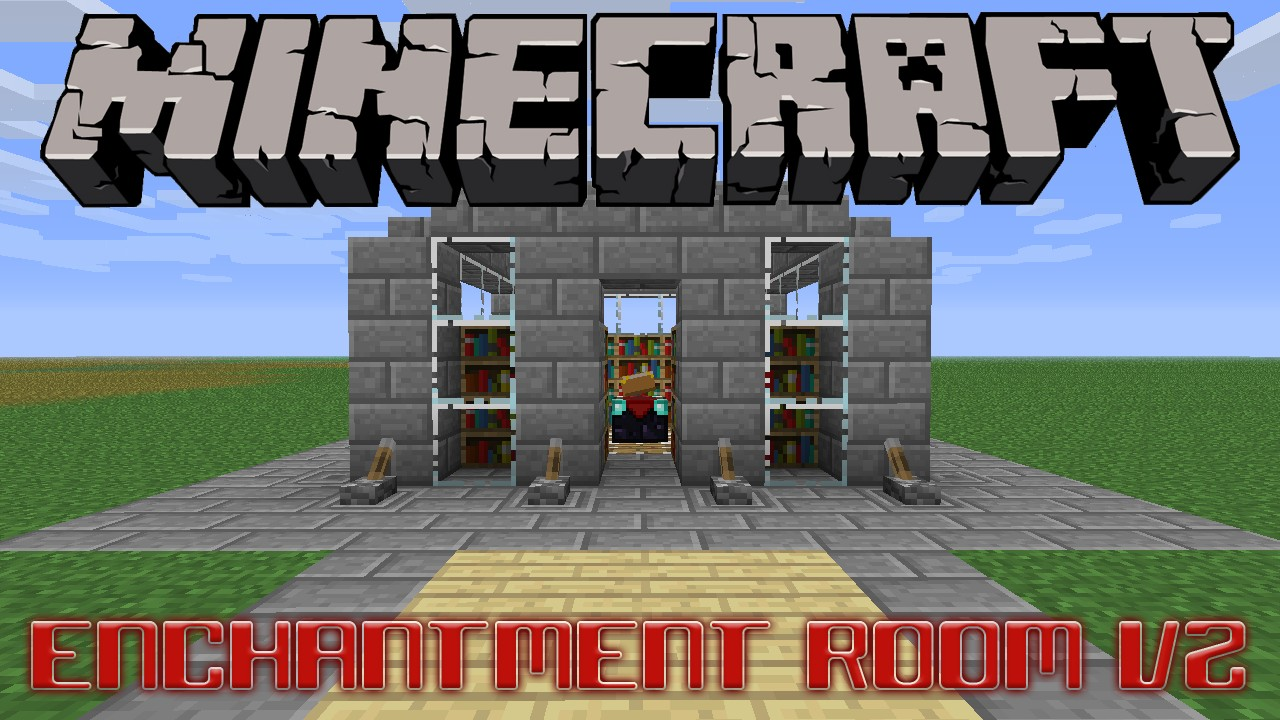 Minecraft Enchant Room Design
