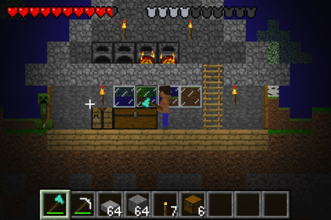 Crafted D Minecraft For Iphone