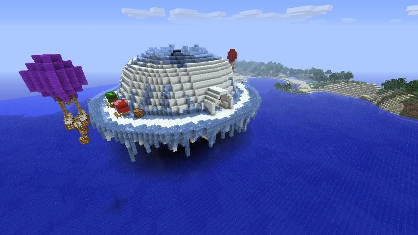 Igloo town. Minecraft ...