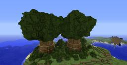 Elven Village (North of Stockholm) Minecraft Project
