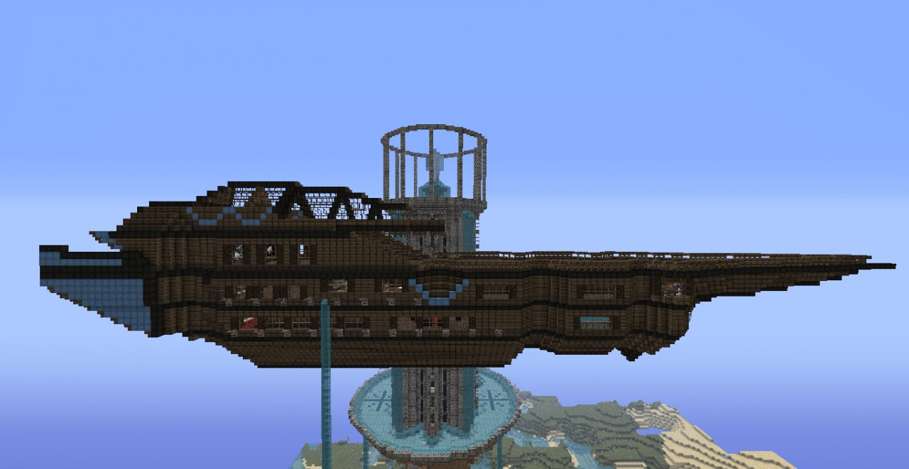 Tristem S Airship House Ninetails And Morrowind S Library