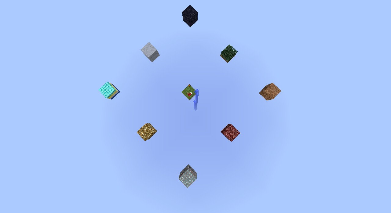 minecraft how to make a floating sand trap