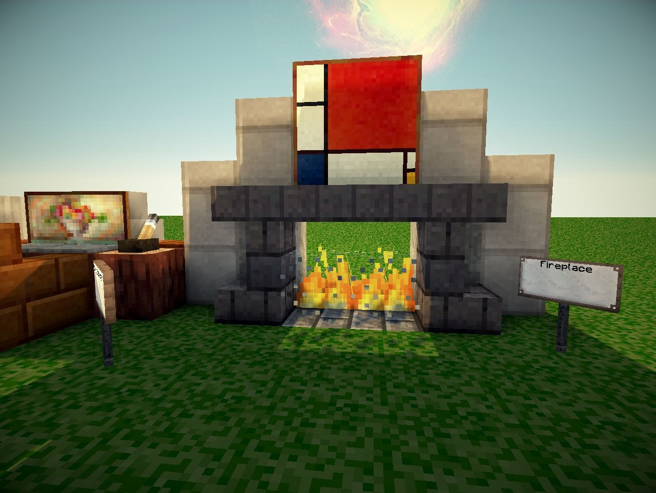Modern Furnishing Tips Minecraft Project