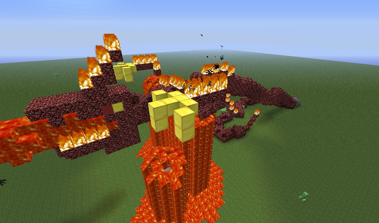 minecraft how to get rid of firee