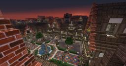 Lovely Medieval Square (Medieval Town Update1) With Download, Builders Needed Minecraft Map & Project