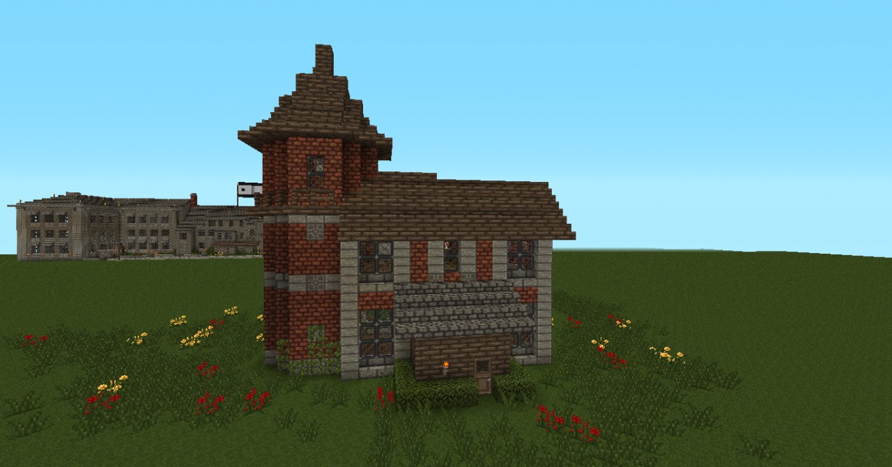 Small Victorian House Brick