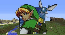 Link and Navi Minecraft Map & Project