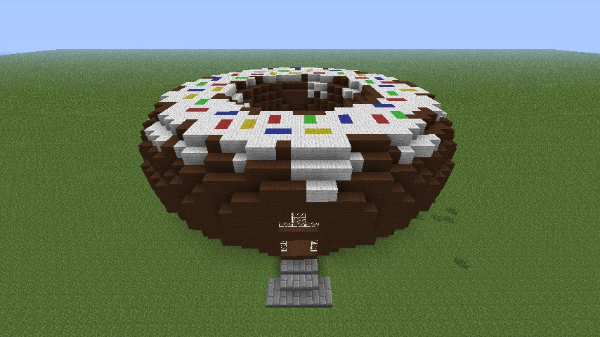 The Grand House Of Donut Minecraft Project