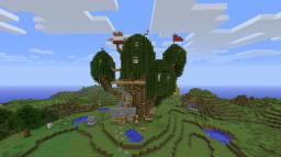 Adventure Time Tree House Minecraft Map & Project
