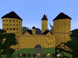 Awesome Golden palace Minecraft Map & Project