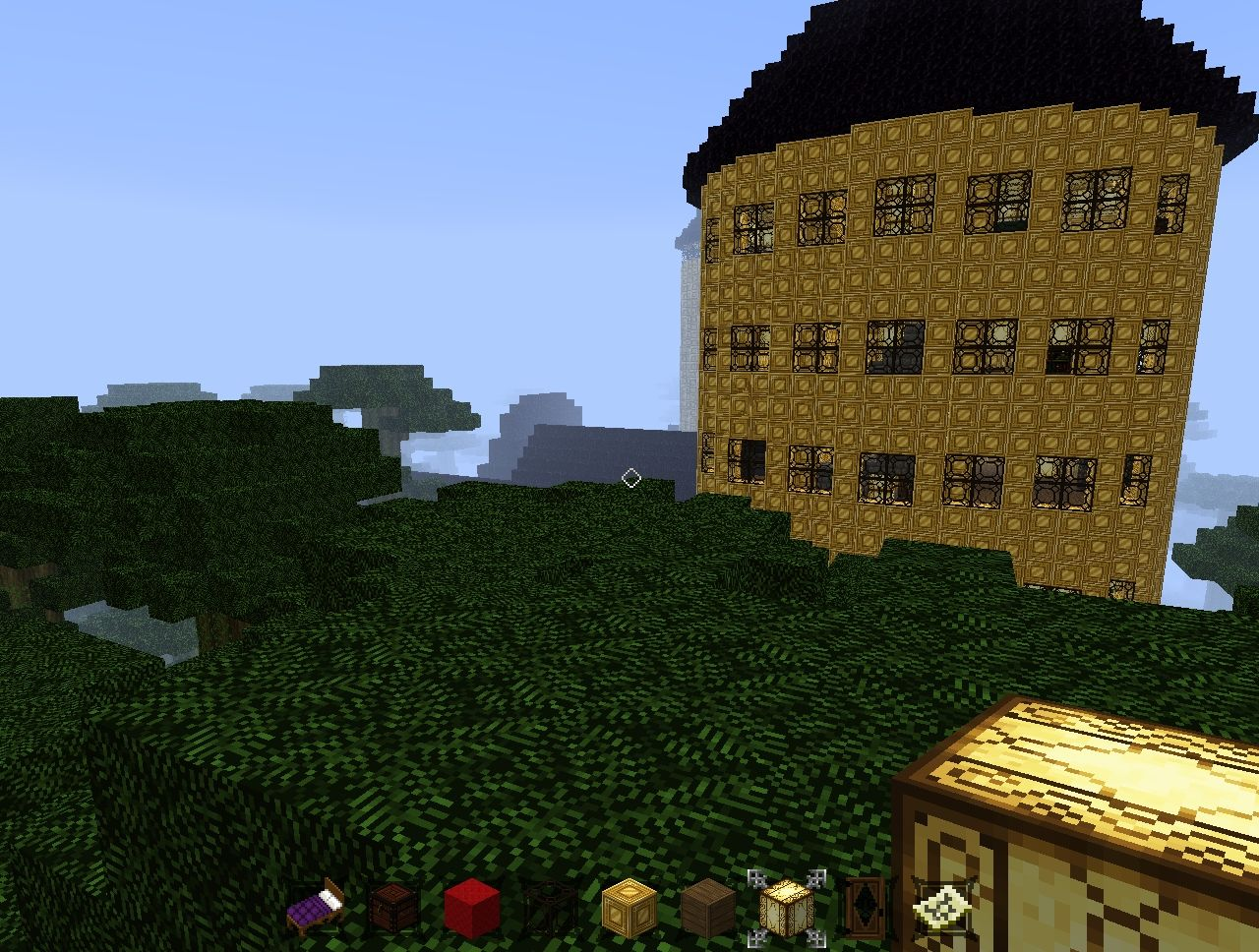 Just walking through the jungle...'0' it's a castle!