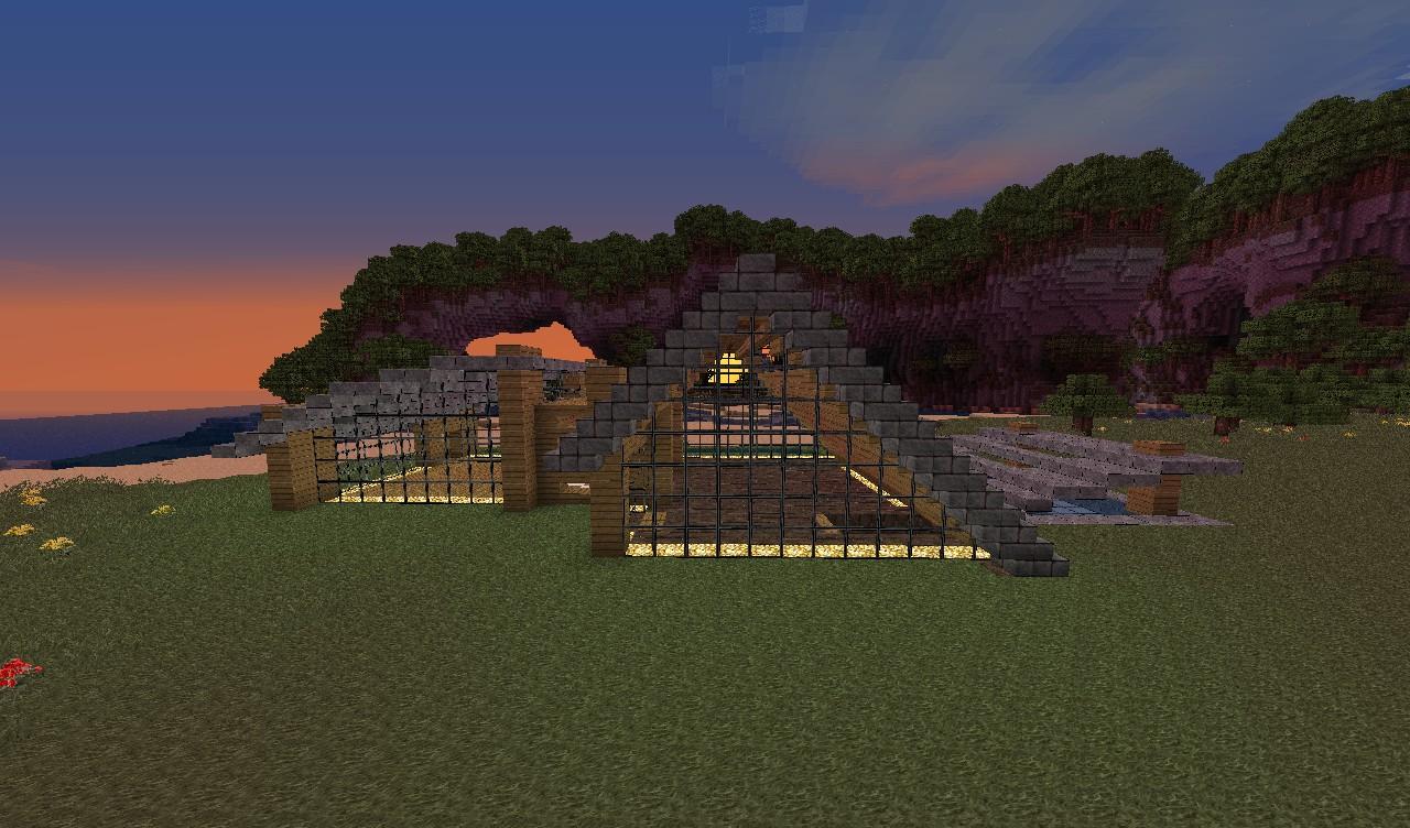 Modern Beach House (Three House Pack) Minecraft Project