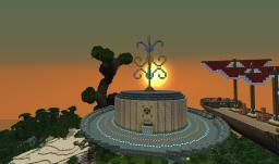 Momentum Dock & Airship Luxuria Minecraft Map & Project