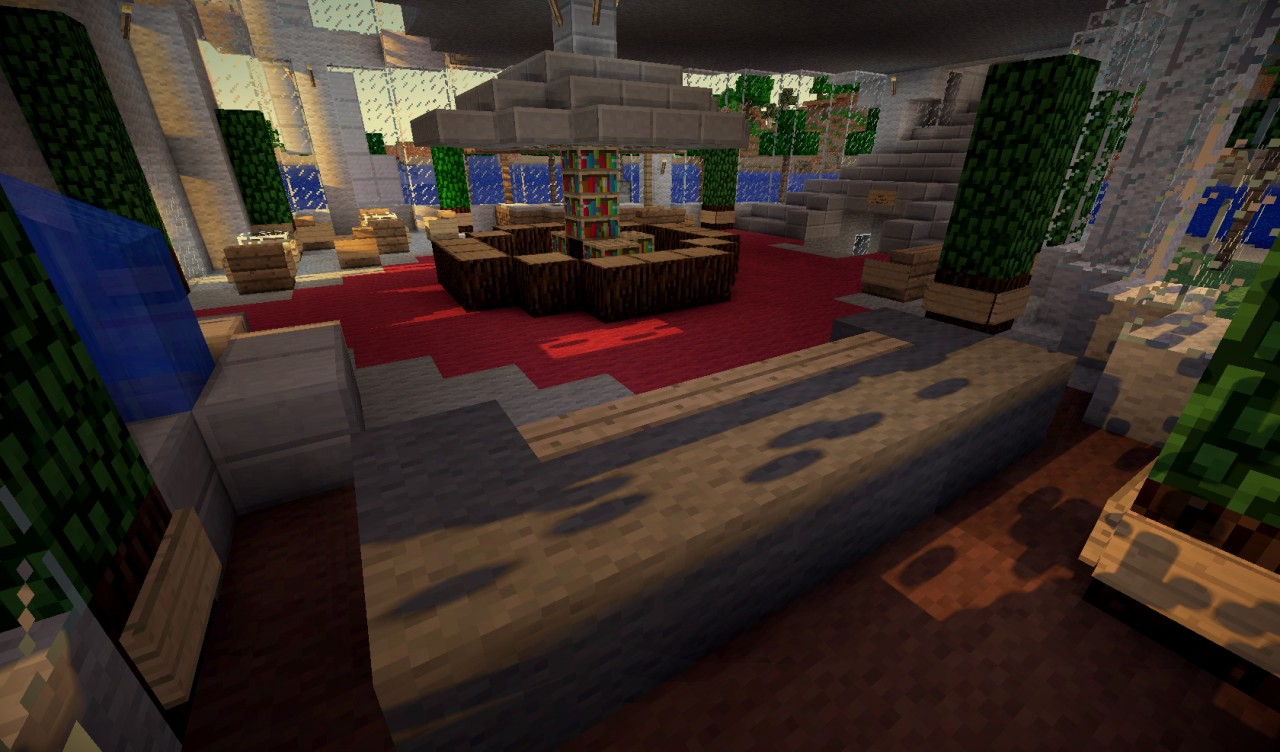 Burj Al Arab Hotel Dubai Minecraft Project
