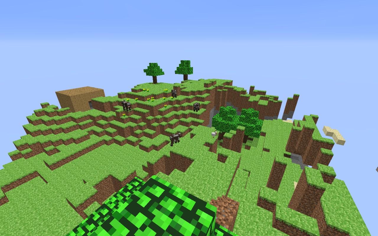 Indev Floating Island Minecraft Map