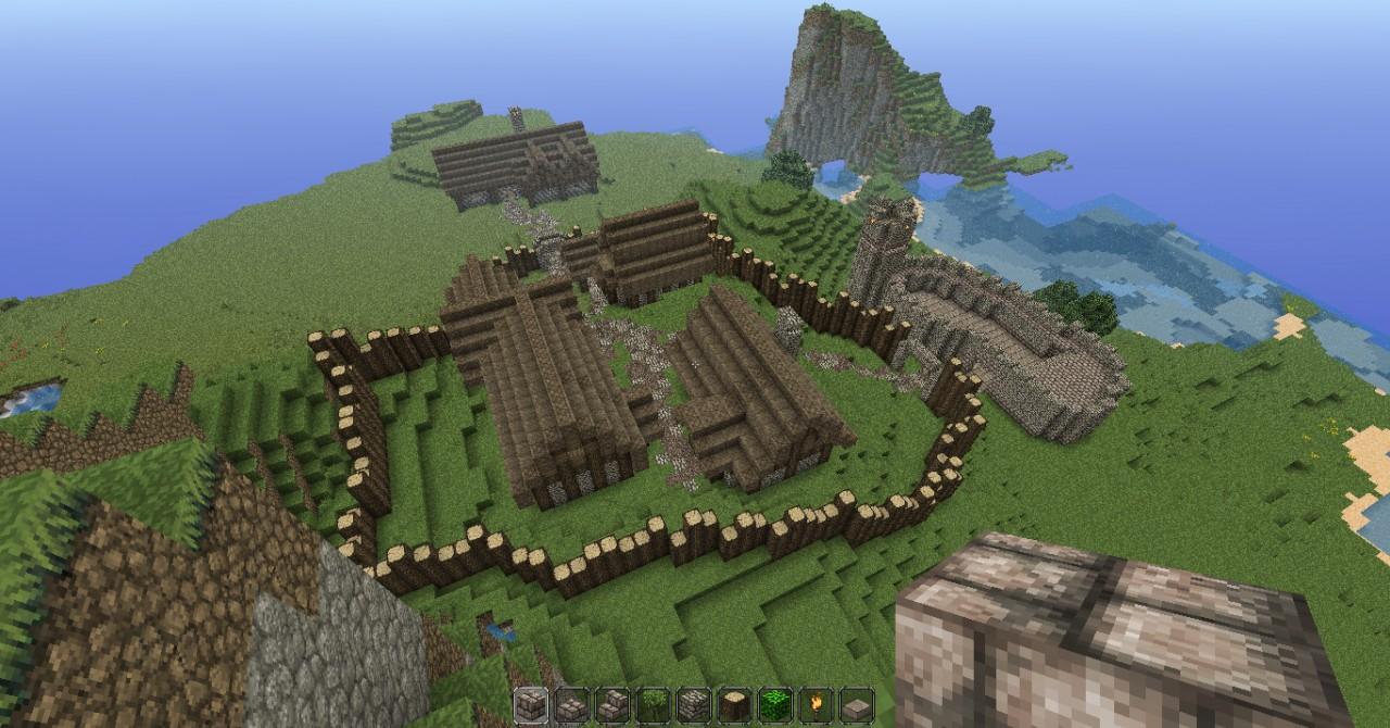 Epic Medieval Kingdom World Minecraft Project