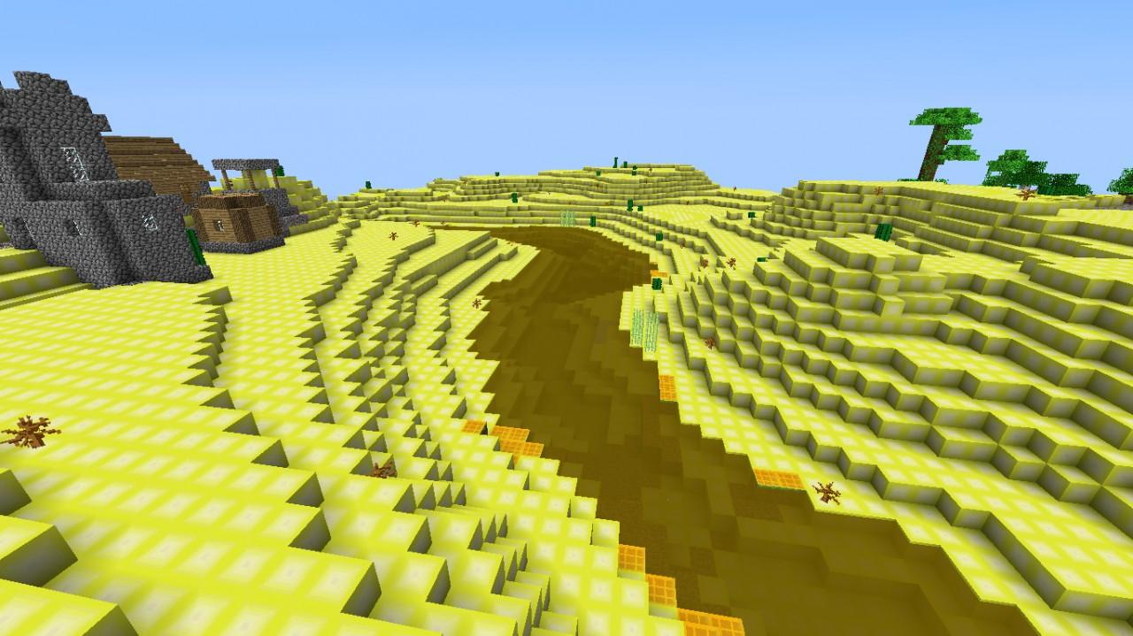 Butter Ore Minecraft Wallpaper as a Wallpaper Just click