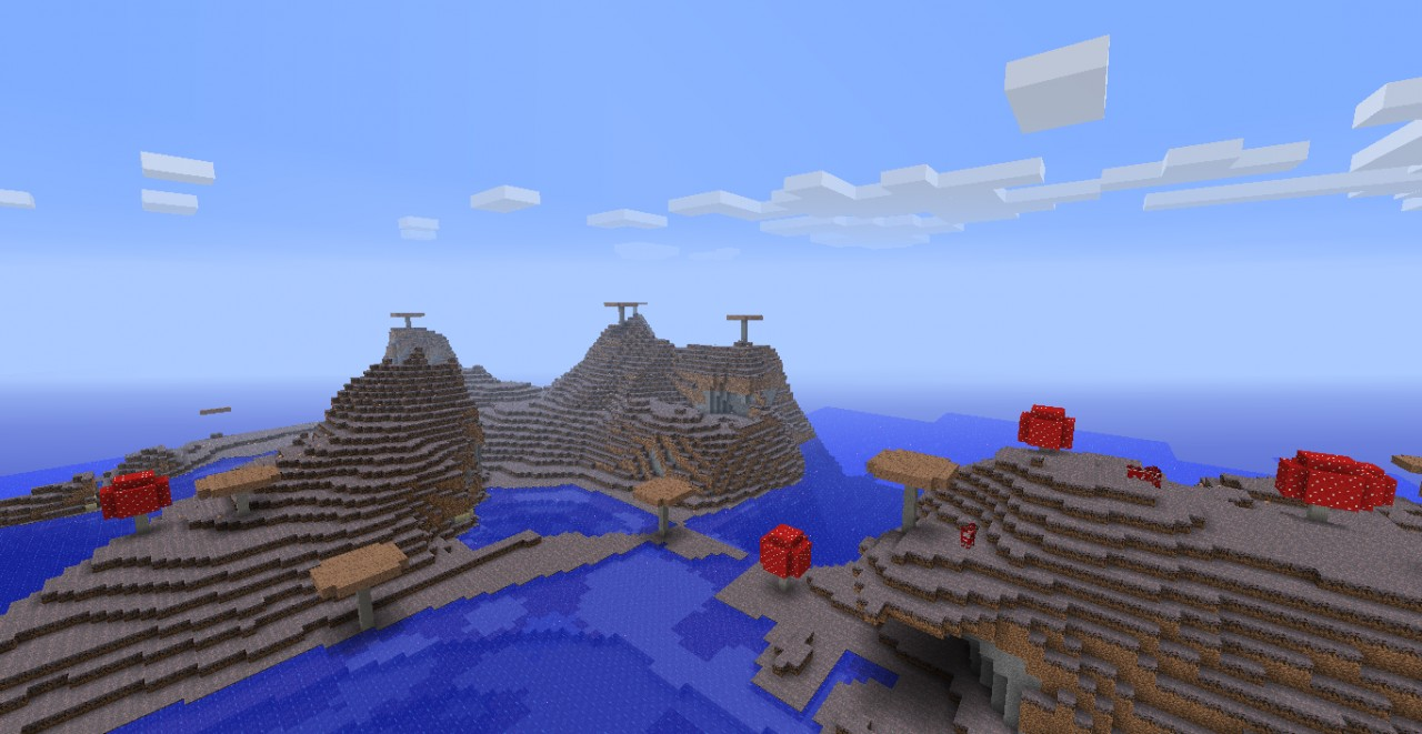 minecraft how to find mushroom biome