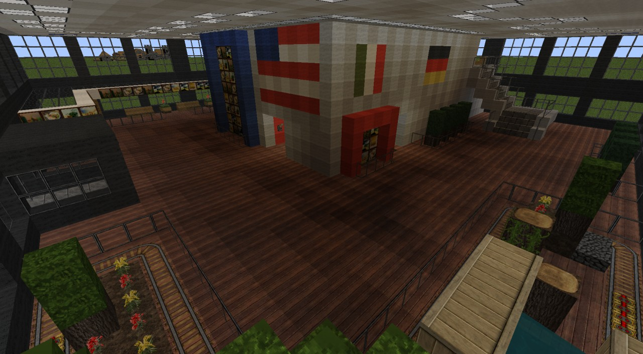 Sears Willis Tower With Redstone Minecraft Project