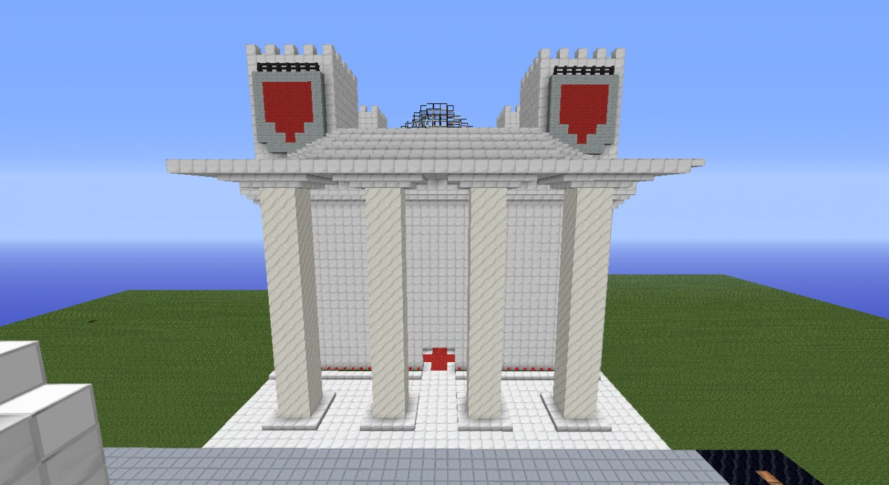 The new Cathedral of Minecraftia
