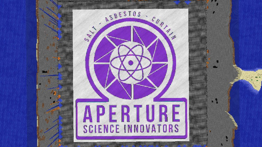 Aperture Science Innovators Logo Minecraft ProjectAperture Science Innovators