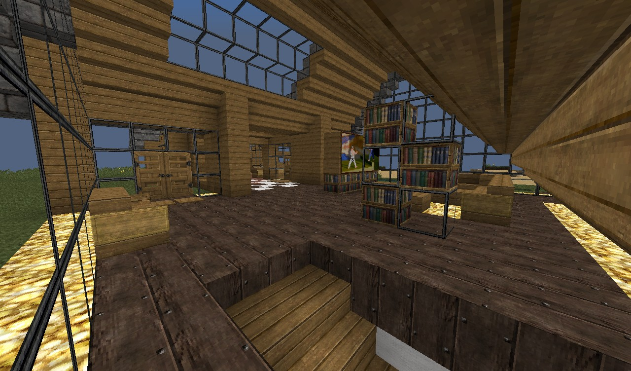 Modern House Interior Minecraft House Modern