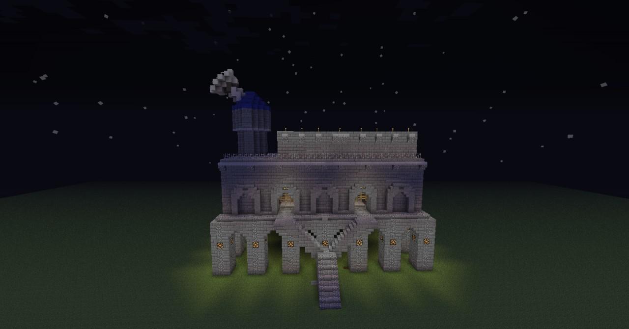 Legendary Castle Of Light Minecraft Project