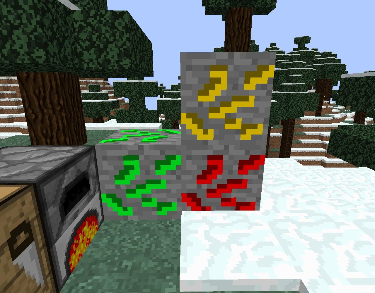 New Ores!