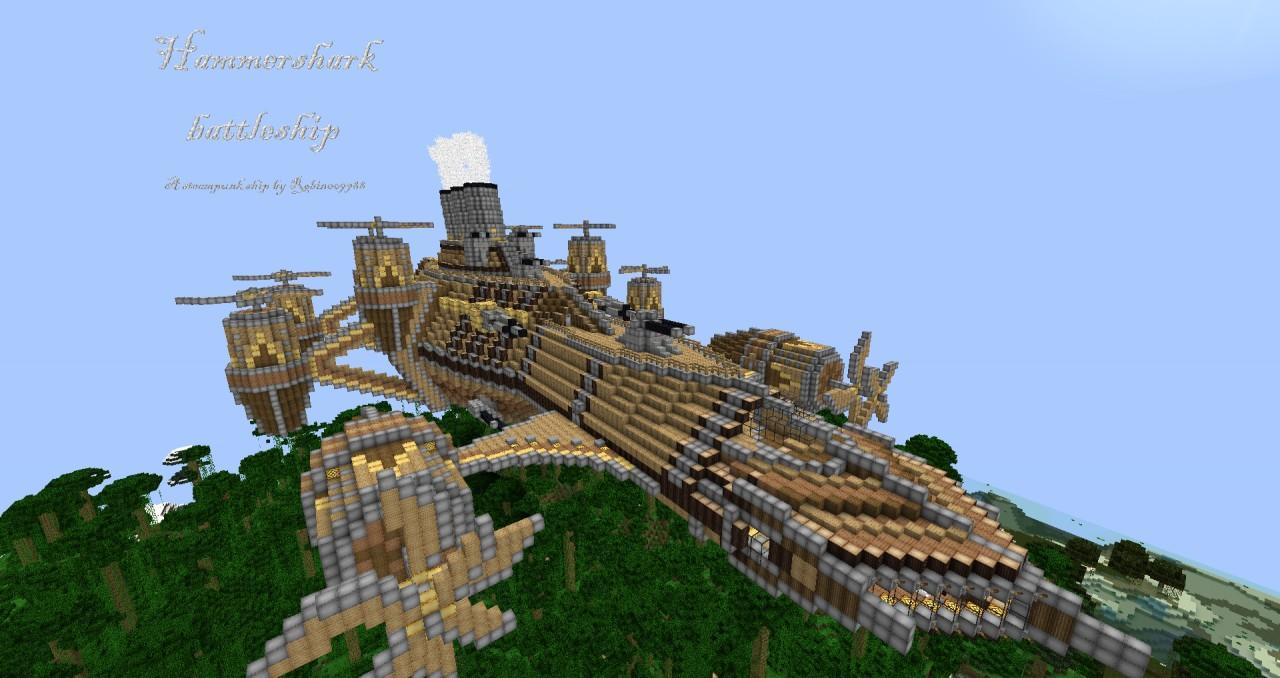 Hammershark Battleship Minecraft Project
