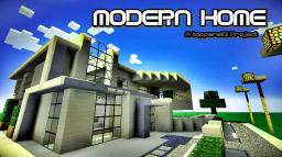 MODERN HOME A TOPPERS101 PROJECT - 2 Minecraft Map & Project