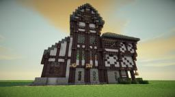 Large Medieval House Design Minecraft Project