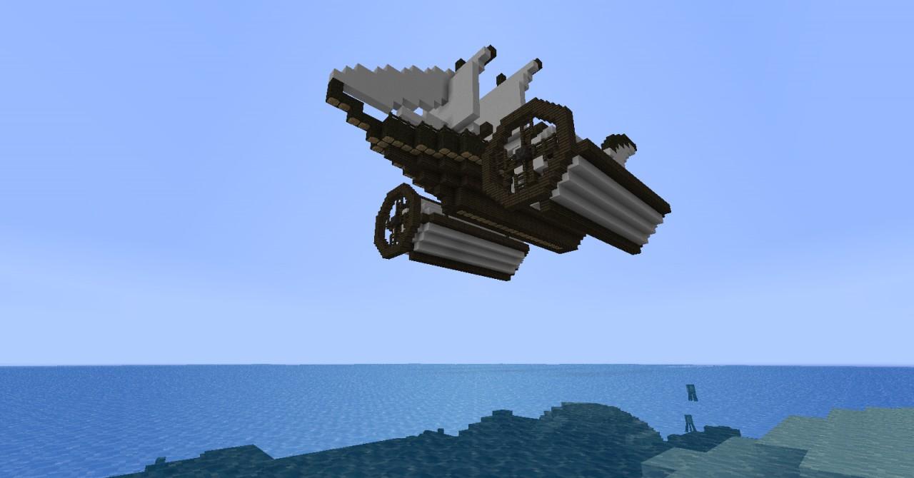 Airships (Schematics) Minecraft Project