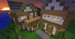 Some Medieval homes Minecraft Project