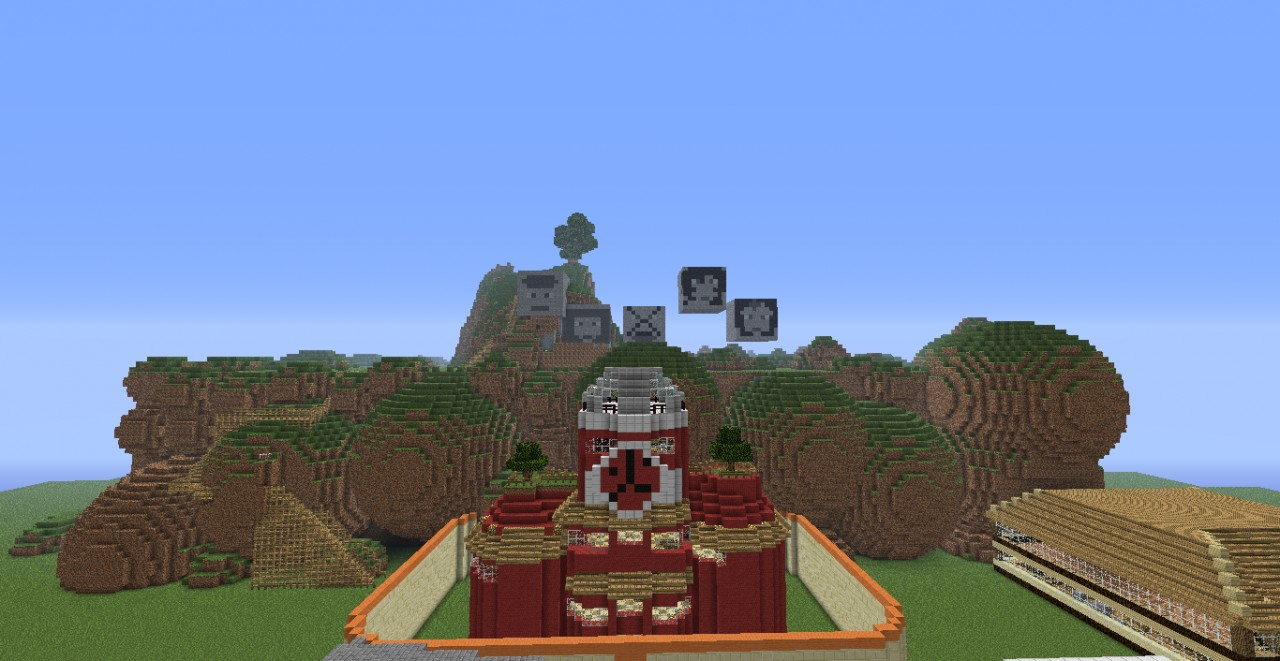 The Five Great Shinobi Nations Naruto Minecraft Project