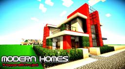 MODERN HOMES A TOPPERS101 PROJECT 3 Minecraft Map & Project