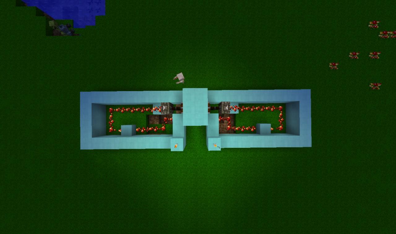 Piston Door 2x2 2x2 Simplified Piston Door