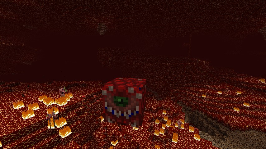 Cacodemon in the new Nether
