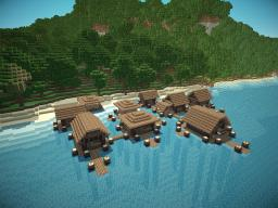 Water village Minecraft