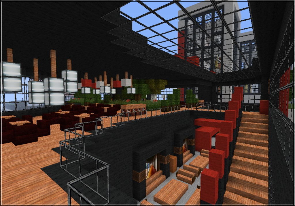 Nefa S Modern Cafe Minecraft Project